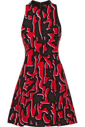 PROENZA SCHOULER Printed crepe mini dress
