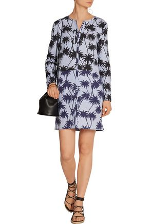 TOMAS MAIER Printed cotton mini dress