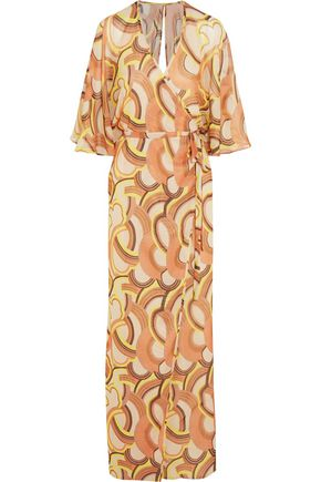 PAUL & JOE Nihal printed silk-chiffon maxi dress
