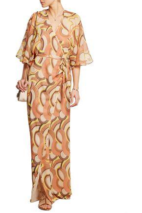 PAUL & JOE Nihal printed silk-chiffon maxi dress