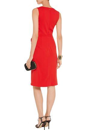 BADGLEY MISCHKA Stretch-cady dress