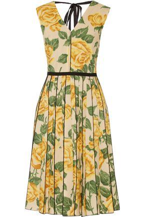 MARC JACOBS Floral-print poplin dress