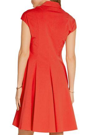 MICHAEL KORS COLLECTION Stretch-cotton poplin shirt dress