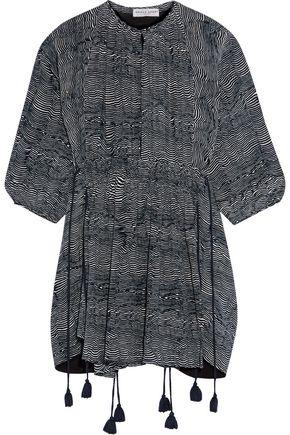 APIECE APART Puebla Wabi printed silk-crepe mini dress