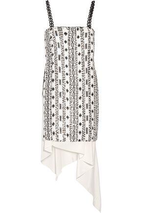 3.1 PHILLIP LIM Asymmetric sequined silk dress