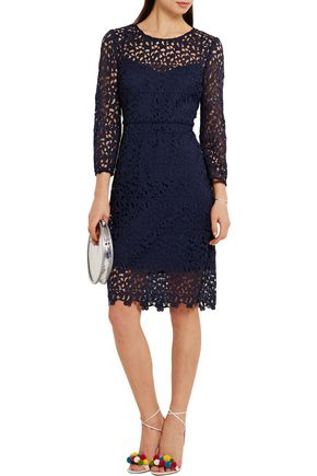 J.CREW Cadenza guipure lace dress