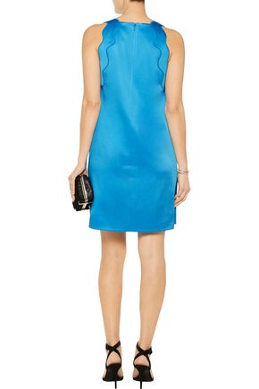 3.1 PHILLIP LIM Scalloped satin-crepe mini dress