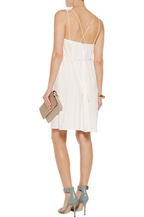 DEREK LAM 10 CROSBY Crepe mini dress