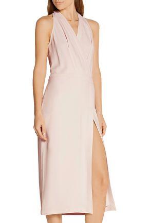DION LEE Wrap-effect crepe dress