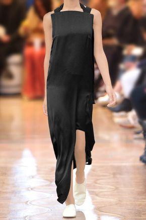 ACNE STUDIOS Rivka satin maxi dress