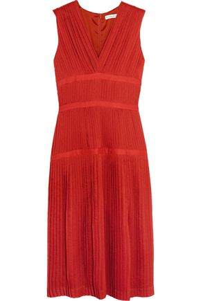 ALTUZARRA Mari pleated gauze dress