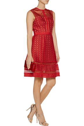 CATHERINE DEANE Feya embroidered organza dress