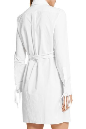 MICHAEL KORS COLLECTION Cotton-poplin shirt dress