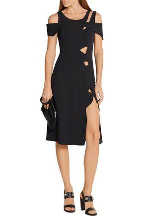 CHRISTOPHER KANE Cutout stretch-cady dress