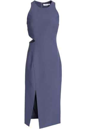 ELIZABETH AND JAMES Giulia cutout stretch-ponte dress