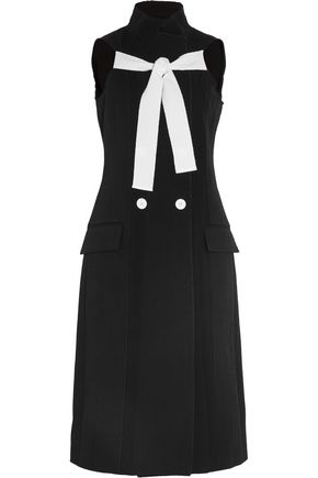 PROENZA SCHOULER Cotton and silk-blend crepe dress