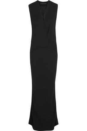 HAIDER ACKERMANN Wrap-effect crepe gown