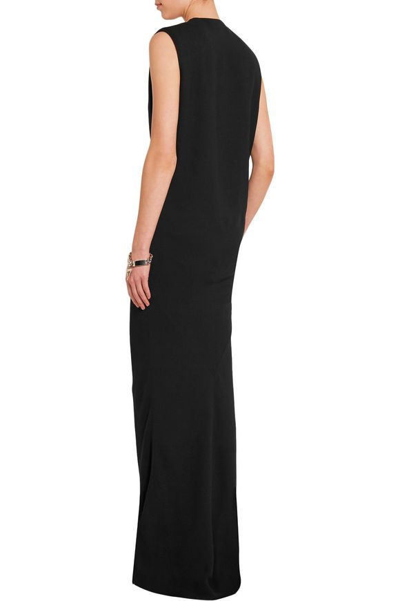 Wrap-effect crepe gown | HAIDER ACKERMANN | Sale up to 70% off | THE OUTNET