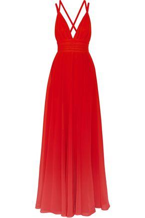ELIE SAAB Dégradé georgette gown