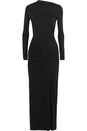 VIVIENNE WESTWOOD ANGLOMANIA Taxa draped stretch-jersey maxi dress
