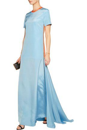ROKSANDA Garnet silk-blend gown