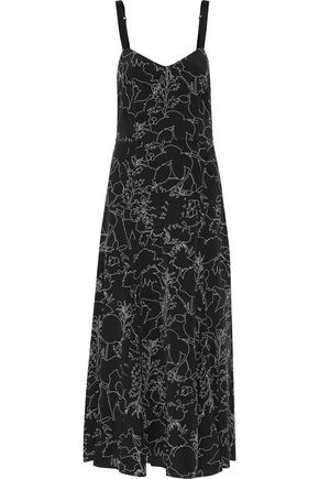 RAG & BONE Jade printed silk midi dress