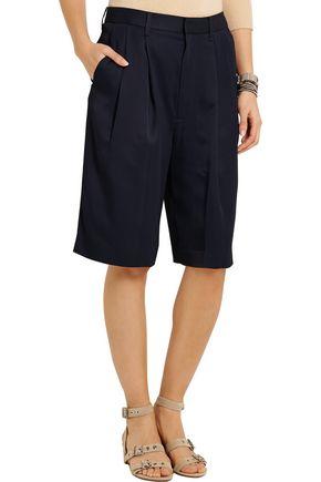 RAG & BONE Sally satin-twill shorts