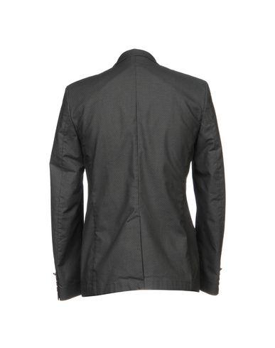 Фото 2 - Мужской пиджак OFFICINA 36 серого цвета