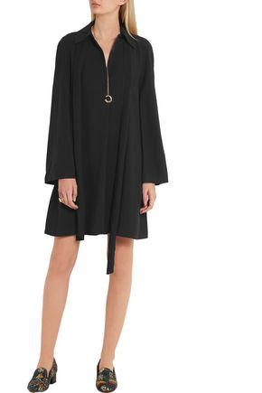 CHLOÉ Tie-neck cady mini dress