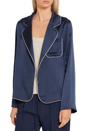CHLOÉ Silk-satin jacket