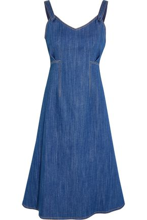 ADAM LIPPES Denim dress
