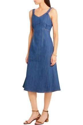 ADAM LIPPES Denim dress