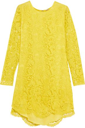ADAM LIPPES Corded lace mini dress