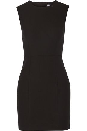 ELIZABETH AND JAMES McKay cutout stretch-cady mini dress