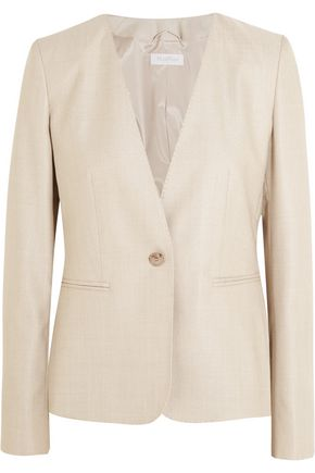 MAX MARA Colonia stretch wool and silk-blend jacket