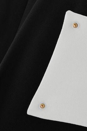 DEREK LAM 10 CROSBY Crepe dress