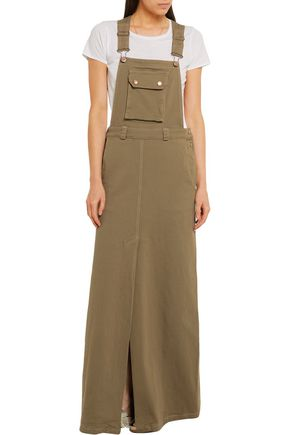 SEE BY CHLOÉ Stretch-cotton faille maxi dress
