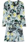ERDEM Judy floral-print tech-jersey mini dress