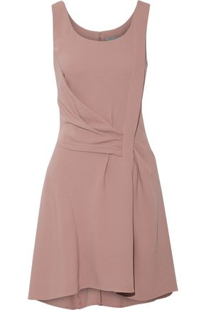MAIYET Draped crepe mini dress
