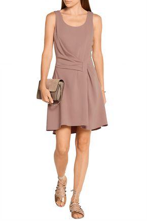 MAIYET Draped crepe mini dress