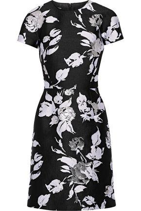MICHAEL KORS COLLECTION Jacquard mini dress