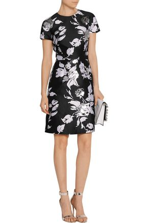 MICHAEL KORS COLLECTION Jacquard mini dress