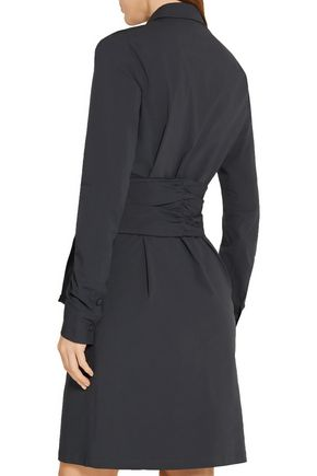 TOMAS MAIER Knotted stretch-cotton poplin dress