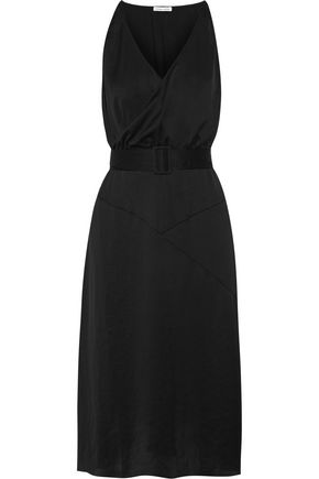TOMAS MAIER Wrap-effect crepe de chine dress