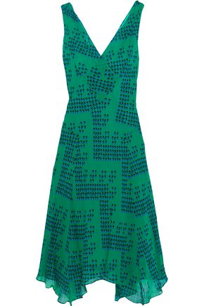 DIANE VON FURSTENBERG Dita printed silk-georgette dress