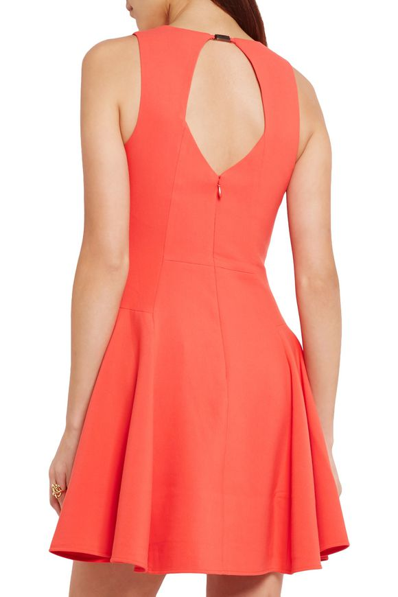 Cutout crepe mini dress | HALSTON HERITAGE | Sale up to 70% off | THE OUTNET