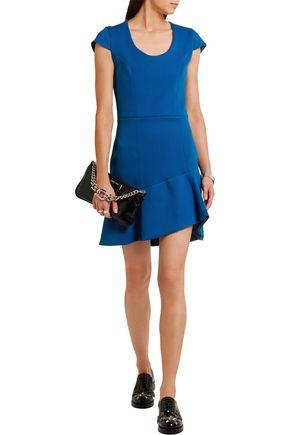 CARVEN Stretch-twill mini dress