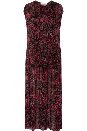 IRO Agneska paisley-print georgette maxi dress