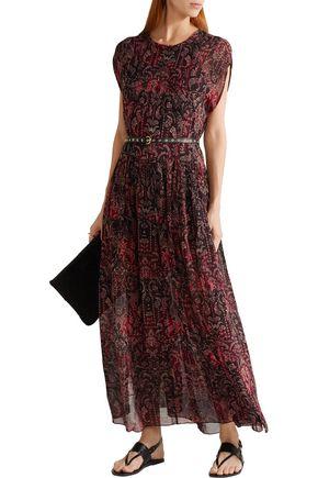 IRO Agneska paisley-print georgette maxi dress