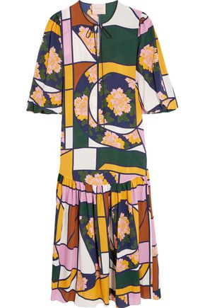 ROKSANDA Naomi printed silk maxi dress